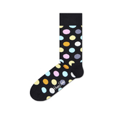 Happy Socks Big Dot Zokni Fekete