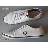 "FRED PERRY ""Kingston"" fehér bőr sneaker 45 - 46 -os"