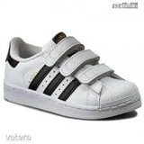 Adidas Superstar Fundation fehér bőr sportcipő 28-as << lejárt 739449