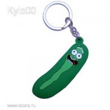 1Ft Rick And Morty figura rick és morty Pickle Rick Uborka kulcstartó kulcs karika << lejárt 962893
