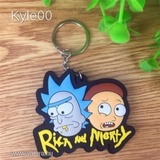 1Ft Rick And Morty figura rick és morty kulcstartó kulcs karika << lejárt 499553