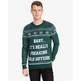 Jack & Jones Jingle Pulóver Zöld