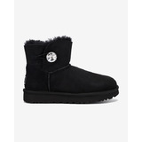 UGG Mini Bailey Button Bling Hótaposó Fekete << lejárt 905851