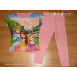 Disney hercegnős póló+george leggings 116 << lejárt 197949
