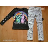My little pony felső+H&M farmer leggings 116 << lejárt 260826