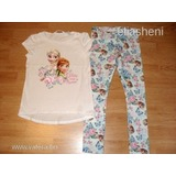 H&M Frozen póló+leggings 122 << lejárt 801597