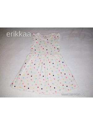 H M színes pöttyös ruha 122 128 - Vatera e0e782e322