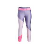 Under Armour HeatGear® Gyerek Leggings Lila