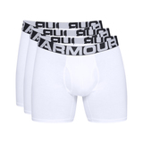 "Under Armour Charged Cotton® 6"" Boxeralsó 3 ks Fehér << lejárt 651151"