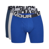 "Under Armour Charged Cotton® 6"" Boxeralsó 3 ks Kék Szürke << lejárt 868861"