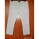 HouseOfDenim fehér capri farmer UK18-46 Moletti << lejárt 699763