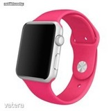 MH Protect Apple Watch 42mm / 44mm Sport szíj, Pink, M-L méret << lejárt 460079