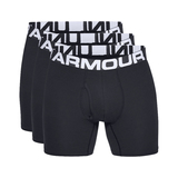 "Under Armour Charged Cotton® 6"" Boxeralsó 3 ks Fekete << lejárt 656062"