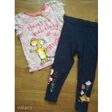 M&S egeres felső&George leggings 3/4y. << lejárt 394388