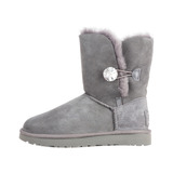 UGG Bailey Button Bling Hótaposó Szürke