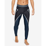 Under Armour Project Rock Core Legings Fekete Kék << lejárt 850266