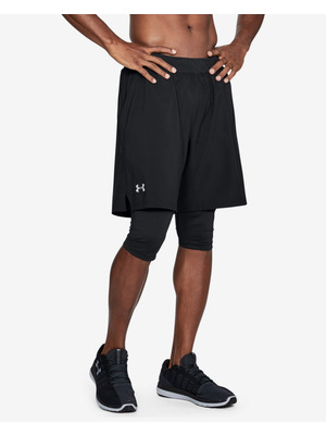 Under Armour Launch 2-in-1 Long Rövidnadrág Fekete << lejárt 215107