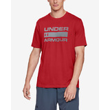 Under Armour Team Issue Wordmark Póló Piros << lejárt 567083