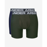 "Under Armour Original Series 6"" 2 db-os Boxeralsó szett Kék Zöld << lejárt 218647"