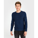 Jack & Jones Planet Pulóver Kék << lejárt 279