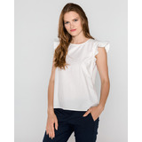 Tom Tailor Denim Top Fehér << lejárt 410085