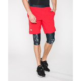 Under Armour Launch 2-in-1 Long Rövidnadrág Fekete Piros << lejárt 750520