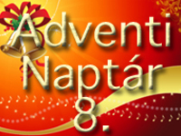 Small 553 vanity adventi naptar 8 nap